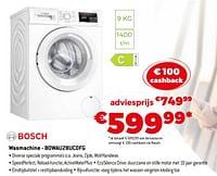 Bosch wasmachine - bowau28uc0fg-Bosch
