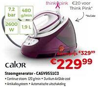 Calor stoomgenerator - cagv9551c0-Calor