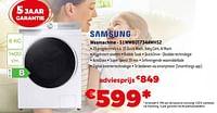 Samsung wasmachine - s1ww80t734awhs2-Samsung