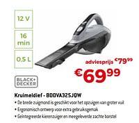 Black + decker kruimeldief - bddva325jqw-Black & Decker