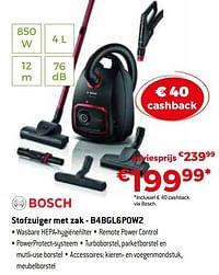 Bosch stofzuiger met zak - b4bgl6pow2-Bosch