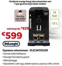 Delonghi espresso volautomaat - dlecam35315b-Delonghi