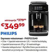 Philips espresso volautomaat - phep222140-Philips