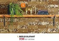 Beeld olifant-Huismerk - BricoPlanit