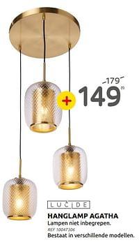 Hanglamp agatha-Lucide