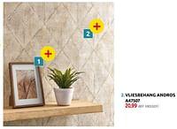 Vliesbehang andros a47507-Huismerk - BricoPlanit