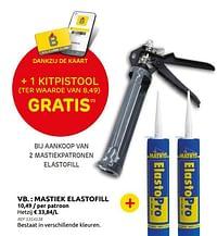 Mastiek elastofill-Elastofill