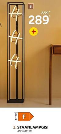 Staanlampgisi-Huismerk - BricoPlanit