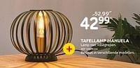 Tafellamp manuela-Lucide