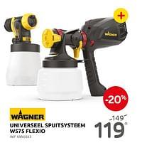 Universeel spuitsysteem w575 flexio-Wagner Spraytechnic