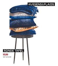Ronde tafel-Huismerk - BricoPlanit