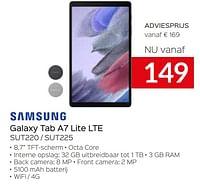Samsung galaxy tab a7 lite lte sut220 - sut225-Samsung