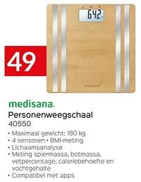 Medisana personenweegschaal 40550-Medisana