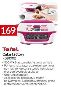 Tefal cake factory kd810112-Tefal
