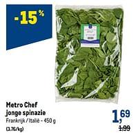 Metro chef jonge spinazie-Huismerk - Makro