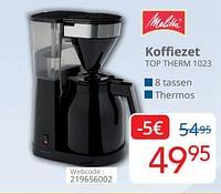 Melitta koffiezet top therm 1023-Melitta