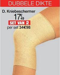 Kniebeschermer-Huismerk - Damart