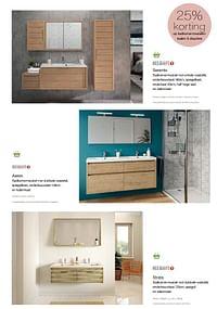 25% korting op badkamermeubelen baden + douches-Allibert