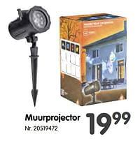 Muurprojector-Huismerk - Fun
