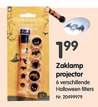 Zaklamp projector-Huismerk - Fun