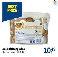 Aro koffiecapsules espresso-Aro