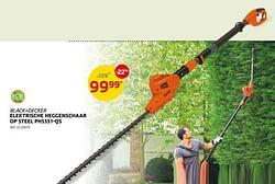 Black+decker elektrische heggenschaar op steel ph5551-qs