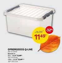 Opbergdoos q-line-Sunware