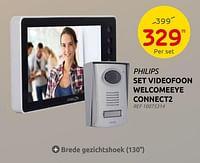 Philips set videofoon welcomeeye connect2-Philips