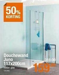 Douchewand juno-Huismerk - Cevo