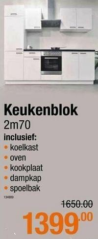 Keukenblok-Huismerk - Cevo