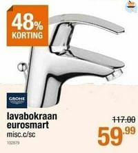 Lavabokraan eurosmart-Grohe