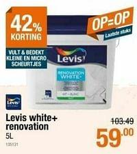 Levis white+ renovation-Levis