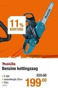 Makita benzine kettingzaag-Makita