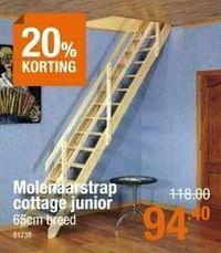 Molenaarstrap cottage junior-Huismerk - Cevo