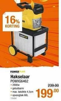 Powerplus hakselaar powxg6462-Powerplus