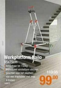 Werkplatform hailo-Hailo