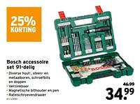 Bosch accessoire set 91-delig-Bosch