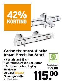 Grohe thermostatische kraan precision start-Grohe