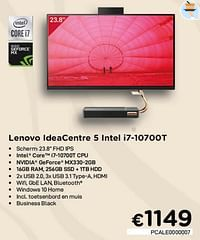 Lenovo ideacentre 5 intel i7-10700t-Lenovo