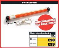 Buismotoren-Huismerk - Bouwcenter Frans Vlaeminck