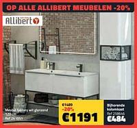 Meubel faktory wit glanzend-Allibert