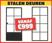 Stalen deuren-Huismerk - Bouwcenter Frans Vlaeminck