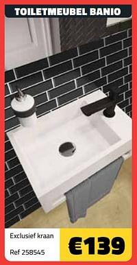 Toiletmeubel banio-Huismerk - Bouwcenter Frans Vlaeminck