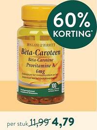 Bèta-caroteen-Huismerk - Holland & Barrett