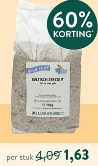 Good stuff keltisch zeezout-Huismerk - Holland & Barrett