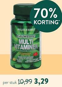Kauwbare multi vitaminen-Huismerk - Holland & Barrett