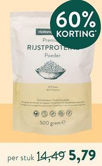 Rijstproteine poeder-Huismerk - Holland & Barrett
