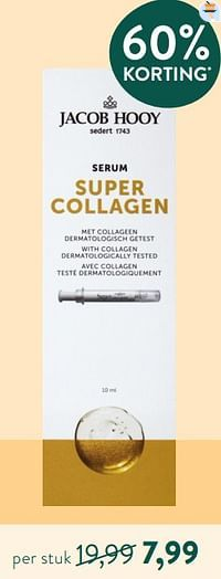 Serum super collagen-Jacob Hooy