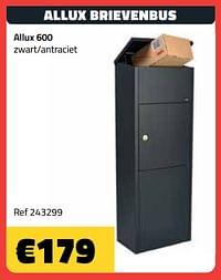 Allux brievenbus allux 600-Allux