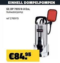 Einhell dompelpomp ge-dp 7935 n-a eco,-Einhell